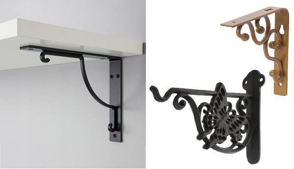 Как повесить кухонные полки: на монтажную рейку, способы крепления и пошаговая установка