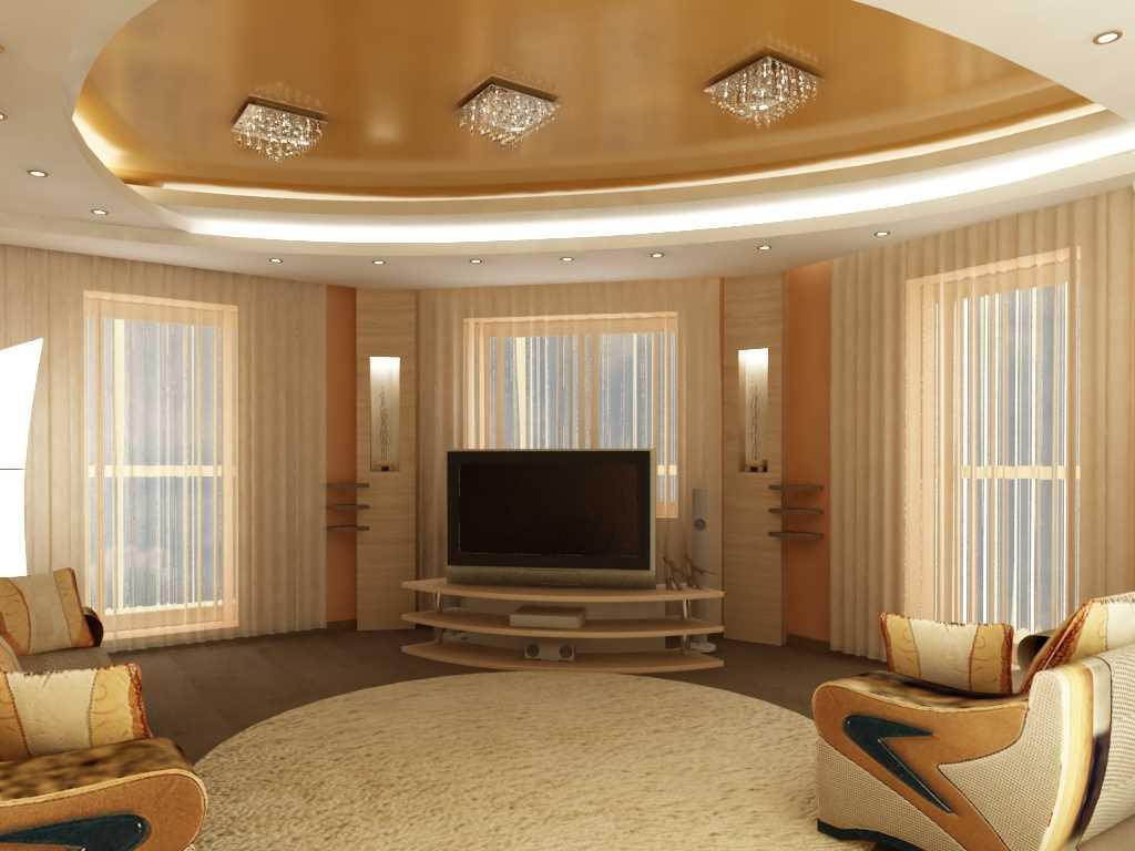 Дизайн гостиной в частном доме + 200 фото и топ-6 преображений