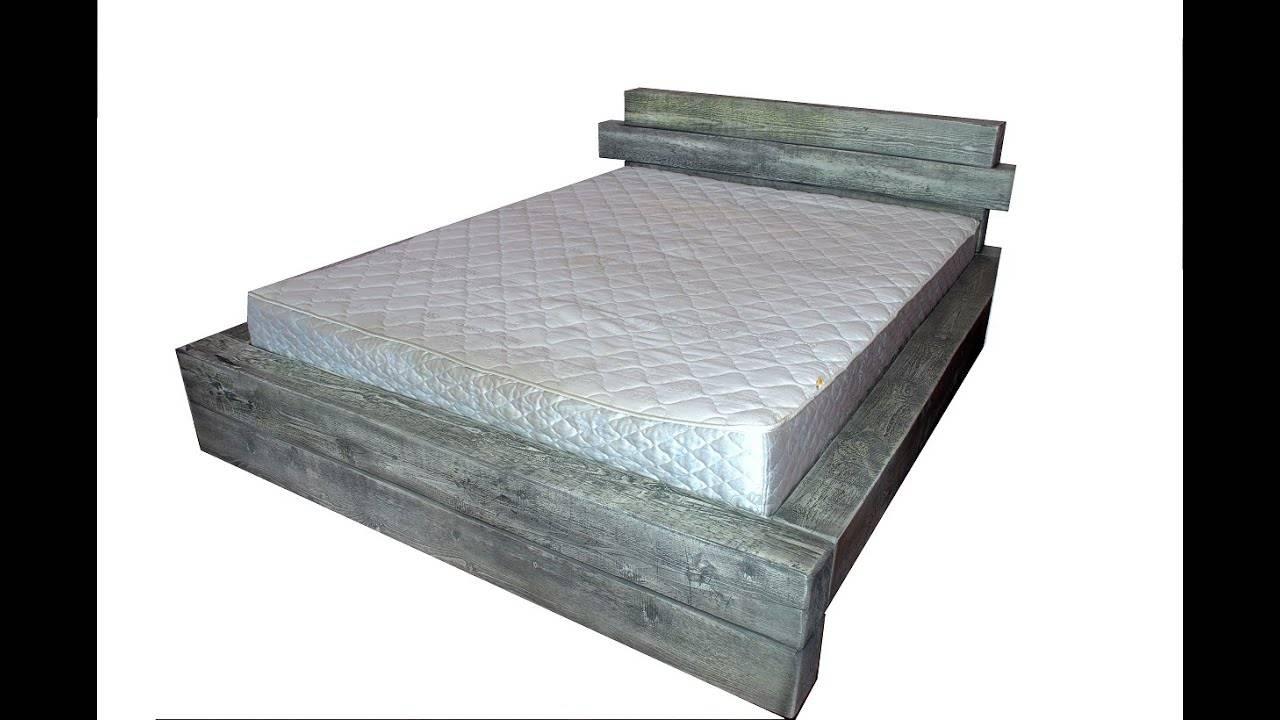 Пошаговое изготовление мебели в спальню — каркас кровати своими руками