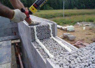 Чем утеплить дом из керамзитобетонных блоков снаружи?
