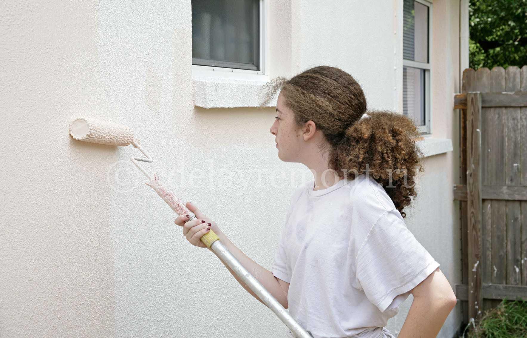 Штукатурка шуба на доме: как сделать своими руками (фото, видео)
