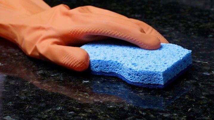 Раковина из искусственного камня: уход, устранение пятен, чистка