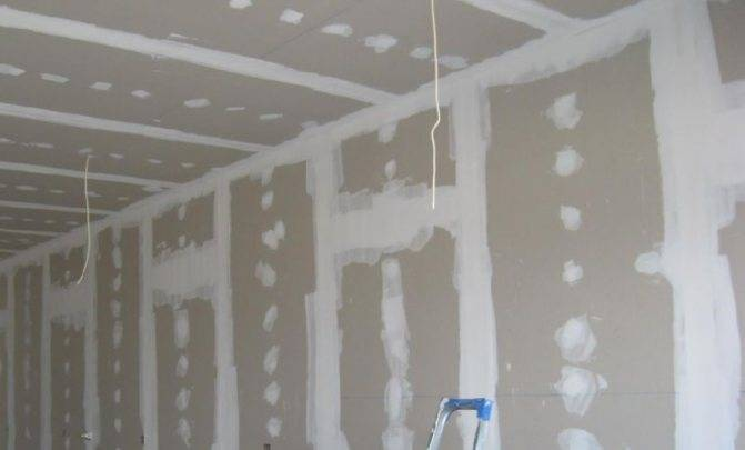 Расход шпатлевки на 1 м2 стены из гипсокартона калькулятор