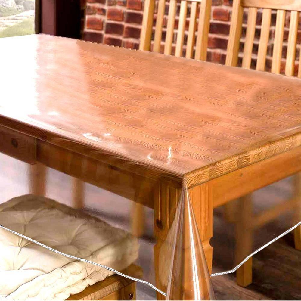 Накладка на стол прозрачная силиконовая, выбор размера, лучшие дизайны