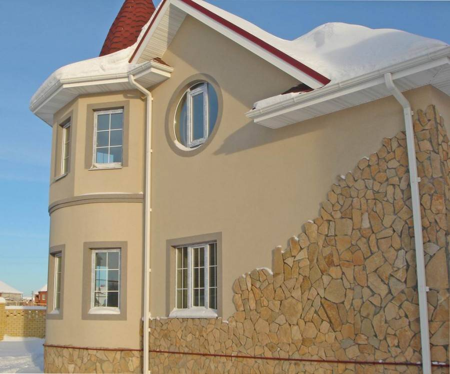 Отделка фасада дома: лучшие тенденции и варианты оформления дома (165 фото)