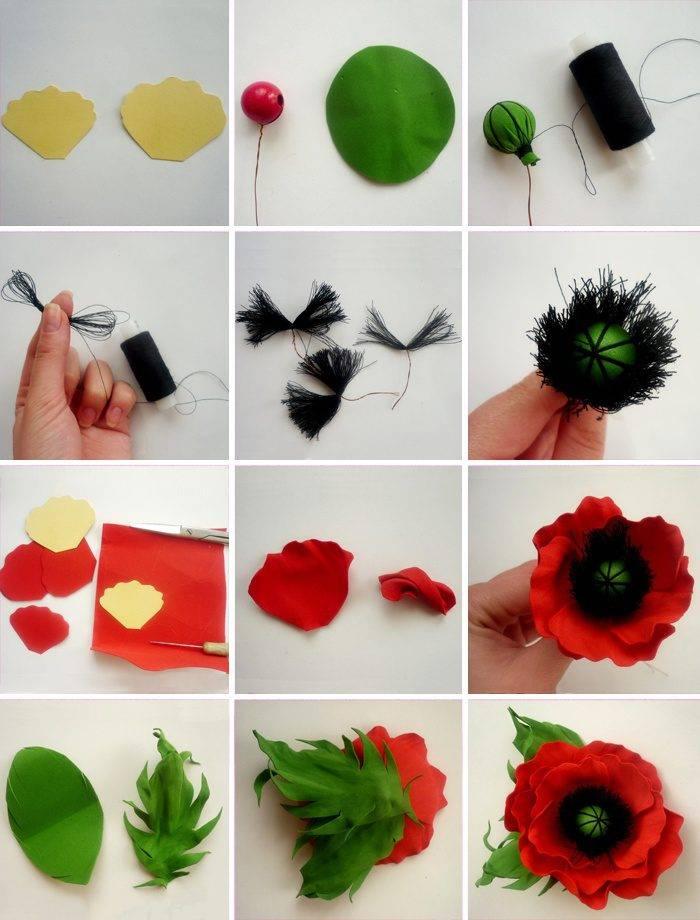 ᐉ цветы из фоамирана шаблоны лепестков. цветок из фоамирана своими руками. мастер классы и видео уроки ✅ igrad.su