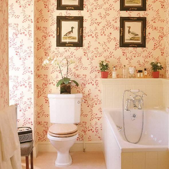 Обои для ванной комнаты 73 фото влагостойкие моющие самоклеющиеся настенные покрытия, какие можно клеить изделия в помещение и отзывы профессионалов