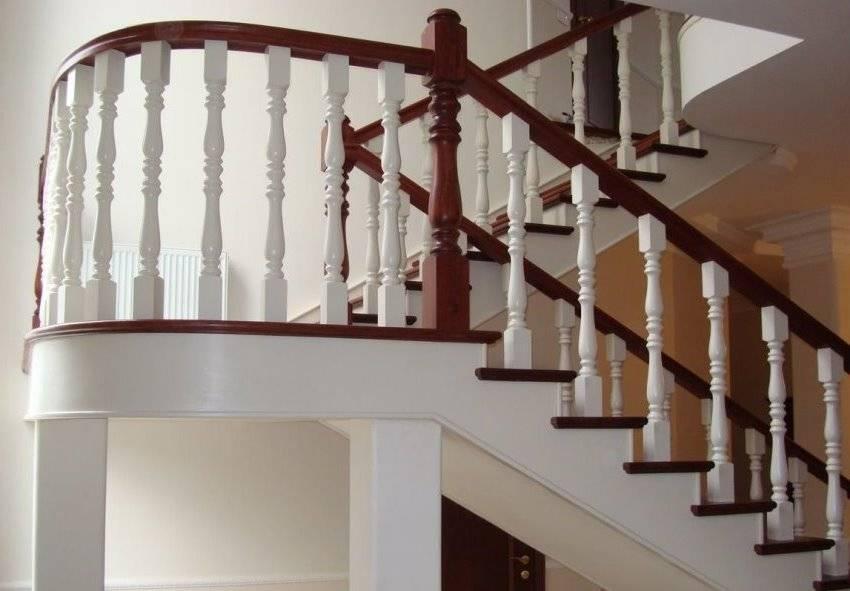 ❓ перила для лестницы в частном доме: виды, устройство и особенности изготовления