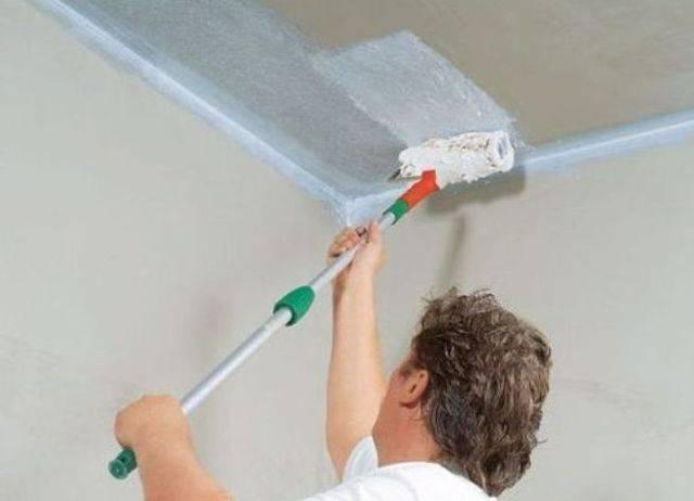 Шпаклевка потолка: как правильно зашпаклевать потолок своими руками, как шпаклевать, отшпаклевать, шпаклевание потолков, как наносить шпаклевку