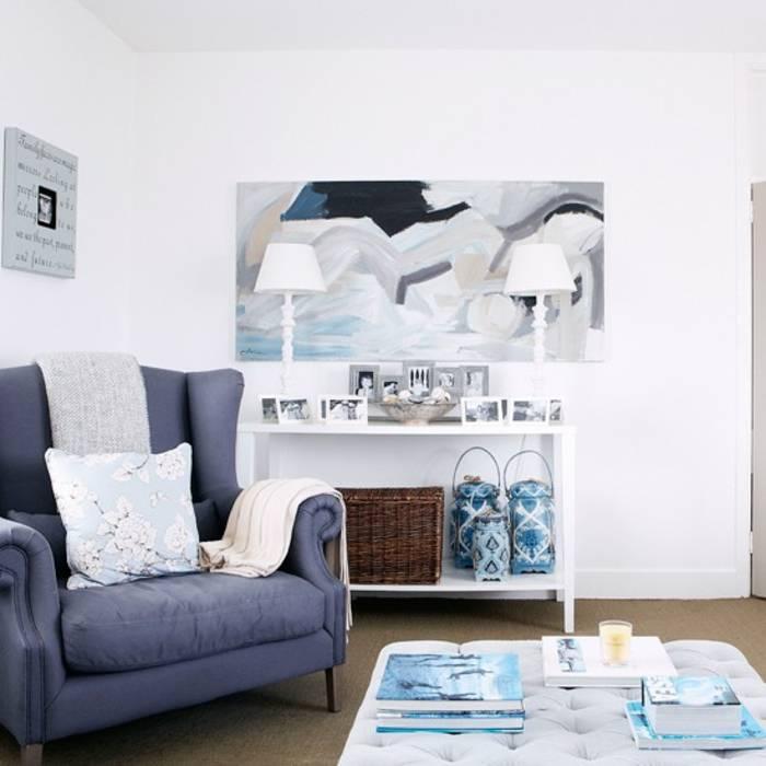 Морской стиль в интерьере (82 фото): выбор мебели в комнату, обои и шкаф, дизайн и декор ванной, шторы и оформление стен
