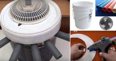 Изготовление кондиционера своими руками в домашних условиях
