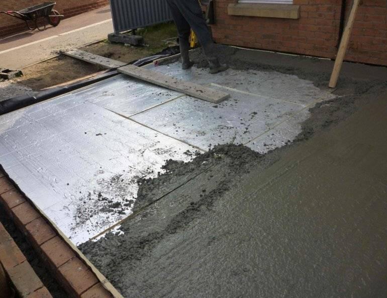 Как утеплить правильно бетонный пол: выбор материала
