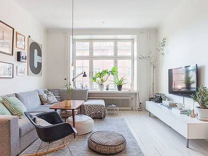 Кухня-гостиная в скандинавском стиле - фото лучших идей!