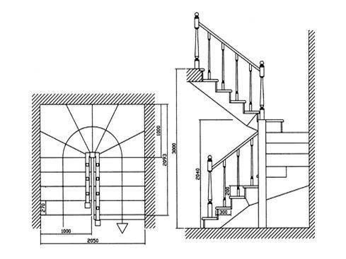 Методика расчета забежных ступеней без калькулятора