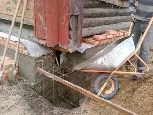 Замена фундамента под деревянным домом: описание технологии и рекомендации