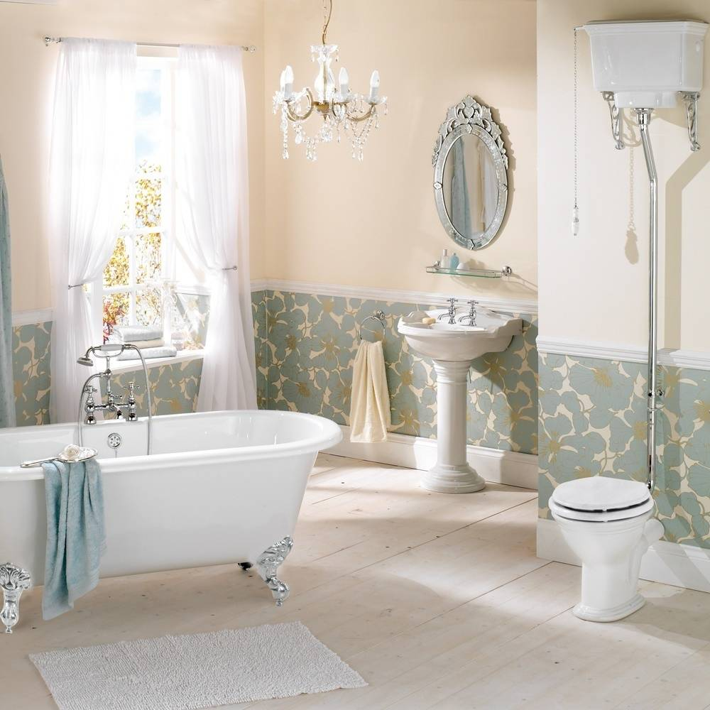 Ванная в английском стиле: новое дыхание викторианского интерьера