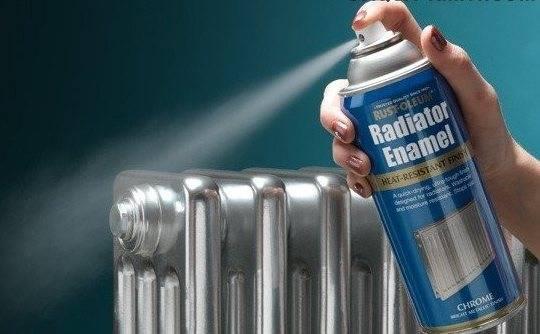 Краска для чугунных радиаторов отопления: чем красить, как правильно покрасить батареи своими руками