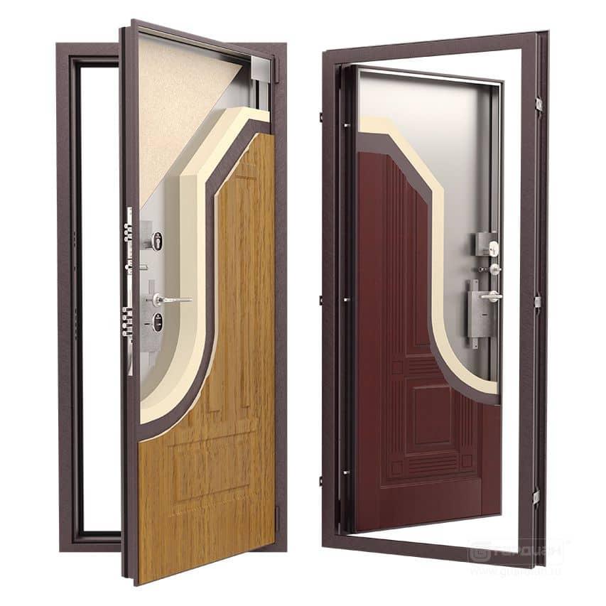 Железные входные двери для частного дома