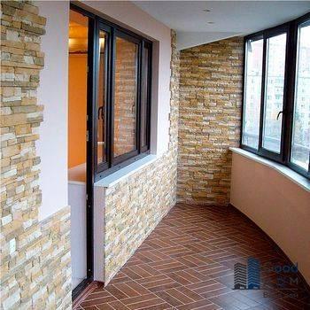 Как самостоятельно обшить балкон декоративным камнем?