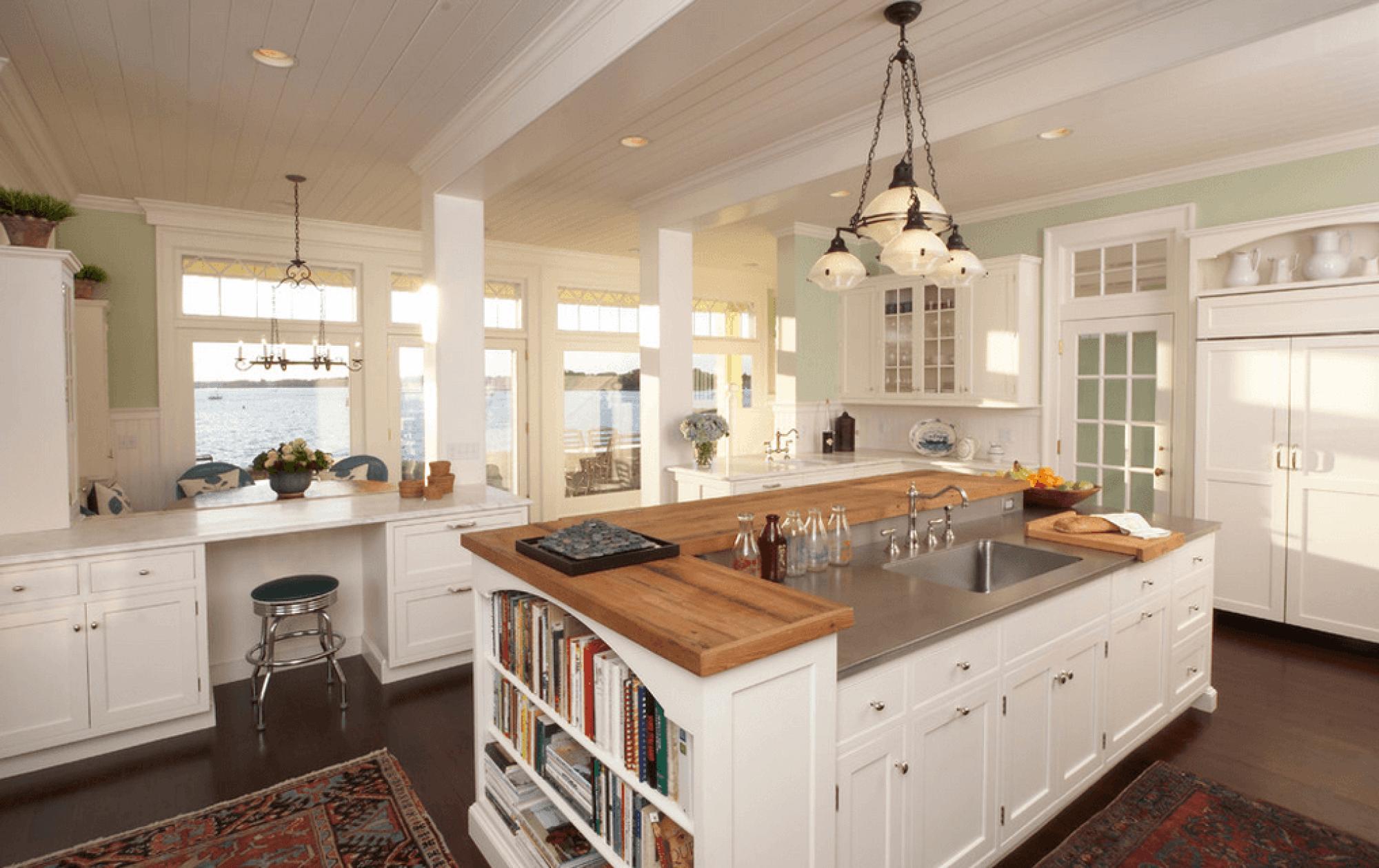 Кухонный остров – определяем габариты правильно
