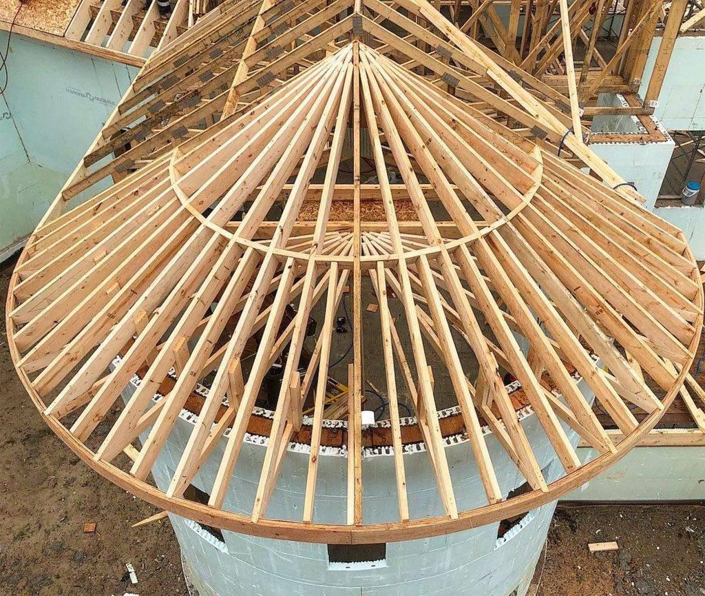 ✅ как сделать полукруглую крышу из дерева - vsepomode39.ru