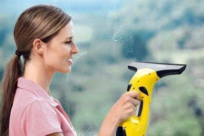 «керхер» для мытья окон: особенности использования и преимущества