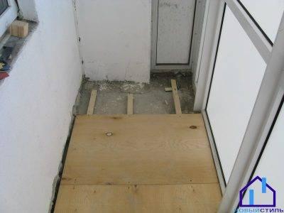 Пол на балконе и лоджии: что лучше положить на основание