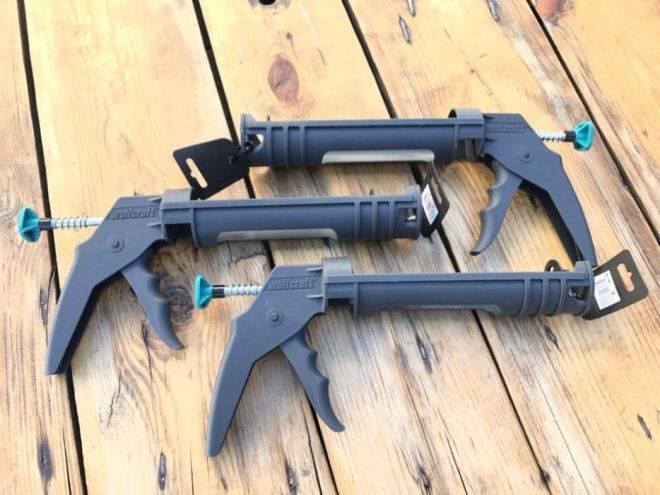 Как правильно пользоваться пистолетом для герметика: инструкция