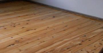 Как покрыть деревянный пол лаком - инструкция по выполнению работ!