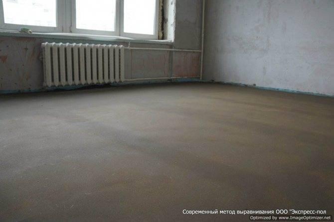 Укладка линолеума на бетонный пол: от а до я