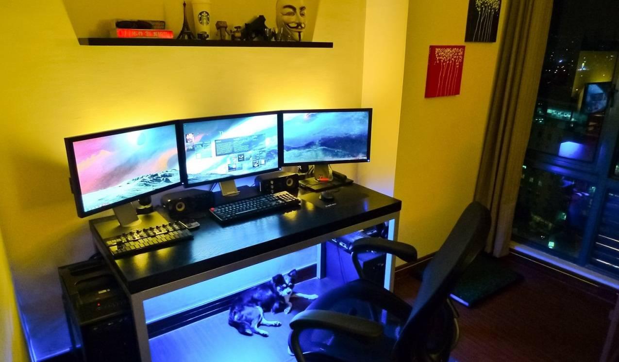 Компьютерный стол своими руками - способы преобразования и советы мастеров как сделать необычный компьютерный стол (105 фото и видео)