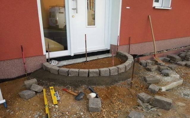 Ступеньки для крыльца из бетона своими руками