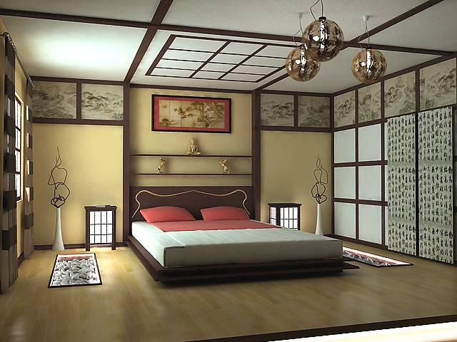 Спальня в японском стиле (58 фото): дизайн интерьера комнаты в азиатском стиле, идеи для отделки своими руками