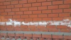 Белый налет (соль) на кирпичной кладке, что это? как удалить? причины появления
