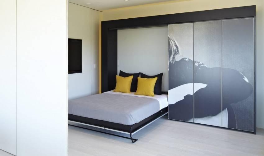 Кровать-трансформер для малогабаритной квартиры: 110 фото лучших моделей