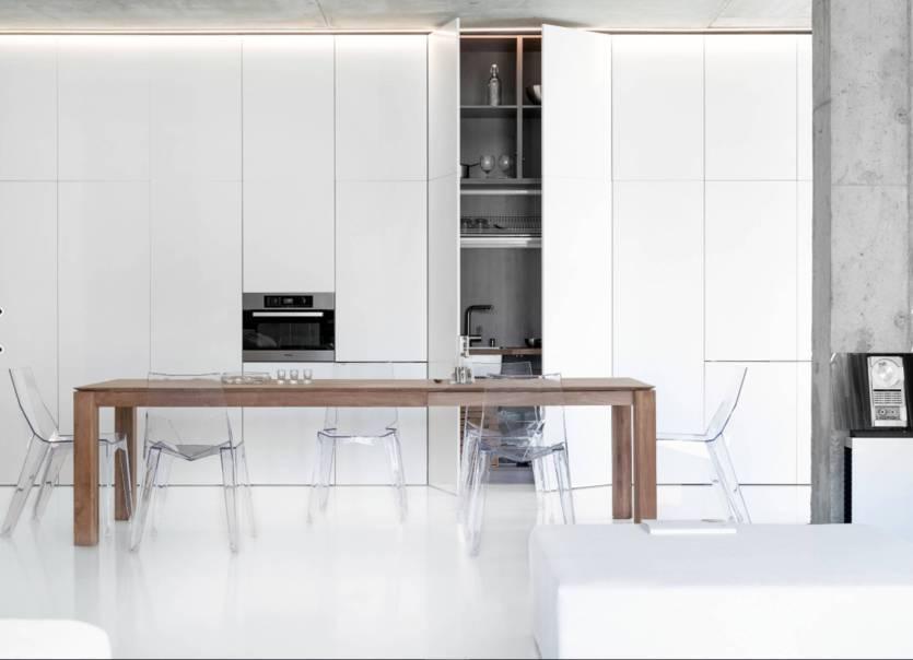 Дизайн интерьера ванной комнаты в стиле хай-тек