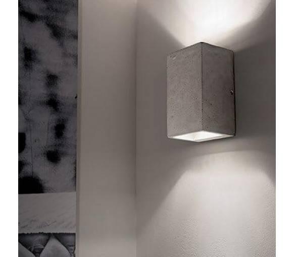 Настенные светильники в помещении