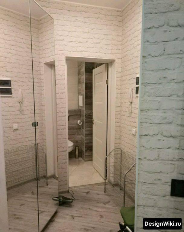 Интересный дизайн коридора 4 кв. м.