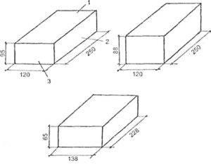 Кирпич силикатный гост - прочность на сжатия и другие параметры
