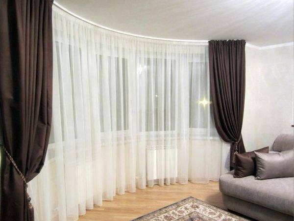 Двухцветные шторы (43 фото): шторы двух цветов на одном окне, как скомбинировать полотна разных оттенков