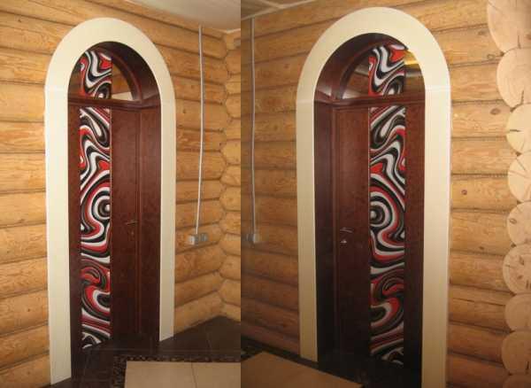 Раздвижные арочные межкомнатные двери: удобство применения