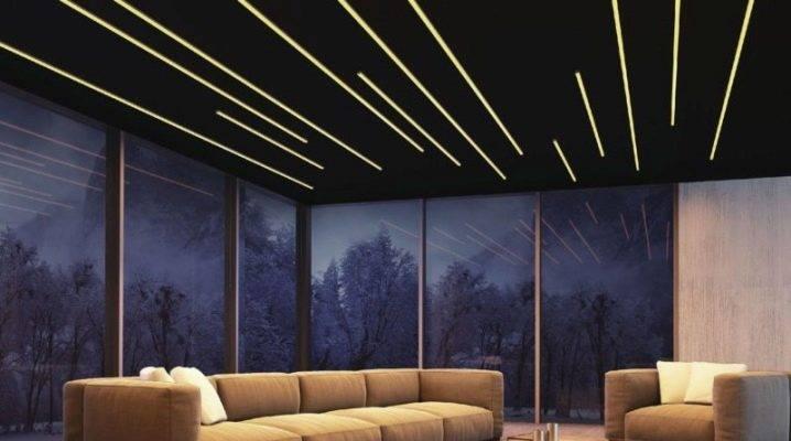 Линейные светильники для потолка: особенности, характеристики