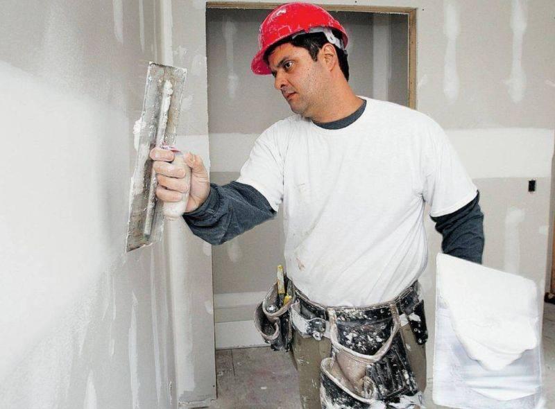 Расход шпатлевки на 1 м2 — рассчитайте, чтобы сэкономить на ремонте