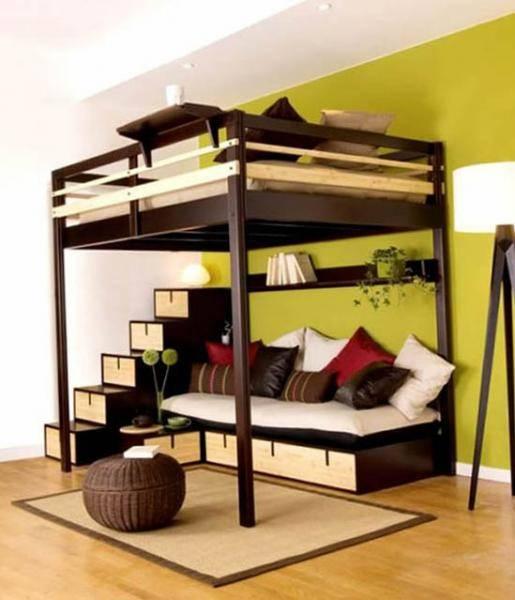 Диван-трансформер в двухъярусную кровать: 70 максимально удобных и практичных идей для вашей квартиры