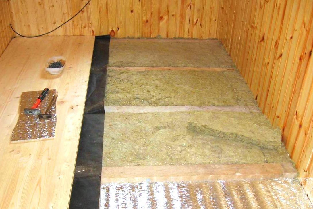 Утепление бани изнутри: как правильно теплоизолировать стены и другие перекрытия, видео и фото
