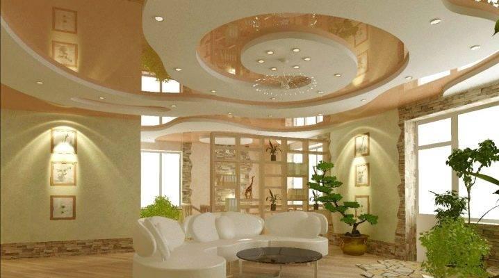 Потолок и освещение в прихожей - фото различных решений