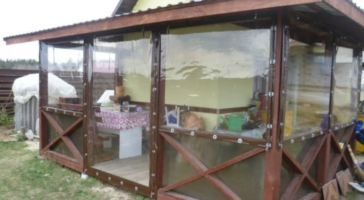 Мягкие окна для беседок и террас- купить и заказать гибкие окна у производителя напрямую