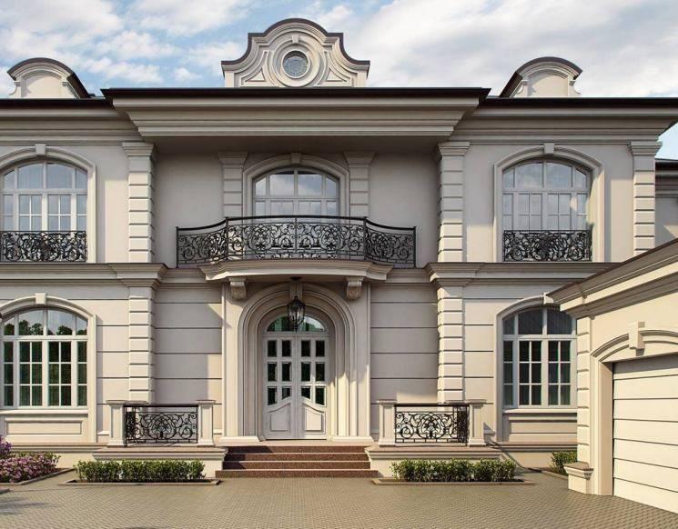 Фасад дома в английском стиле - особенности английского фасада (+фото)