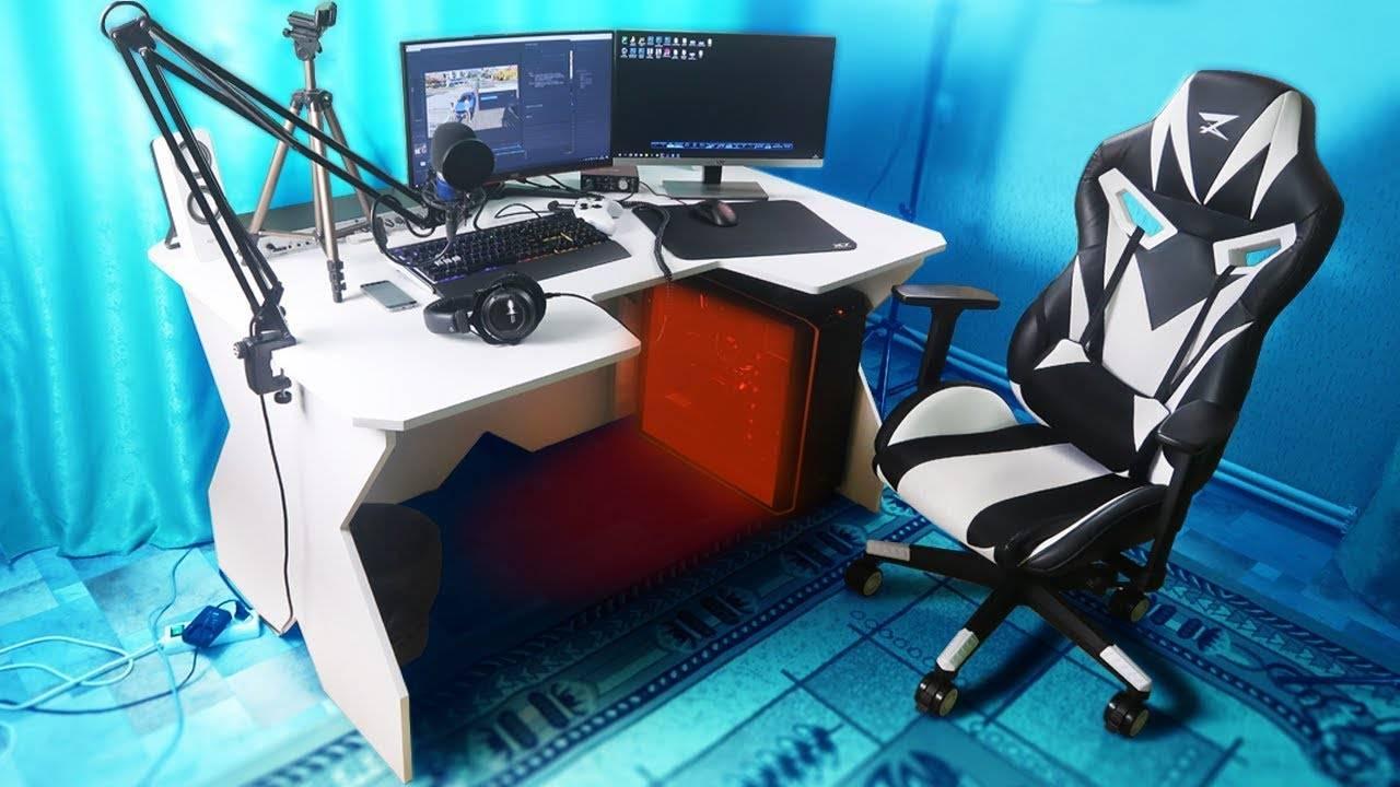 Стол геймера, разновидности, преимущества и недостатки моделей