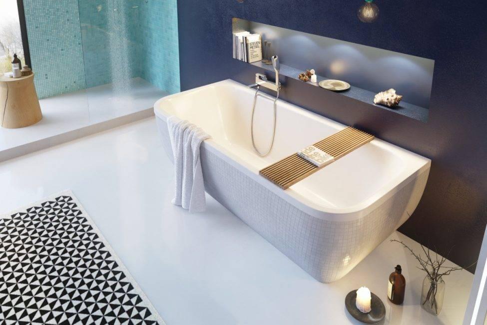 Акриловая ванна: плюсы и минусы, недостатки и преимущества перед стальной, из чего делают чугунные, что за материал - отзывы